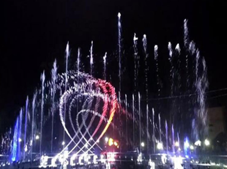 Theme Park 45m Long Fountain Project