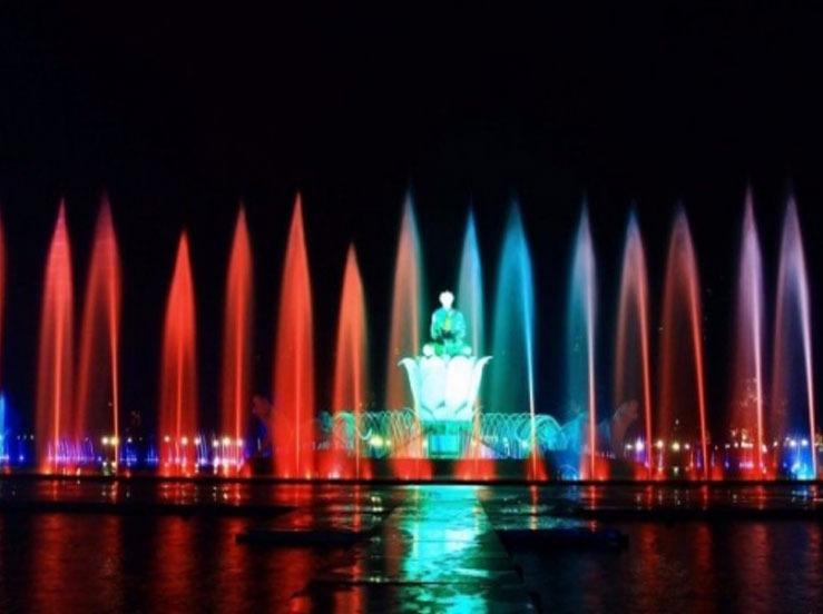 Museum Music Fountain