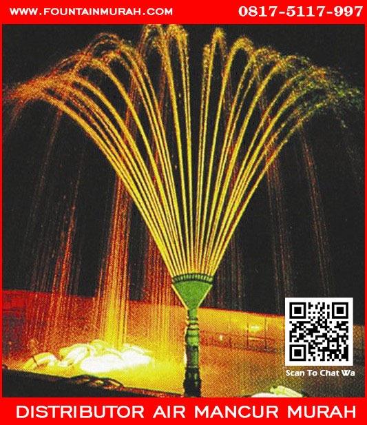 Air Mancur Kolam Dengan Phoenix Tale Nozzle